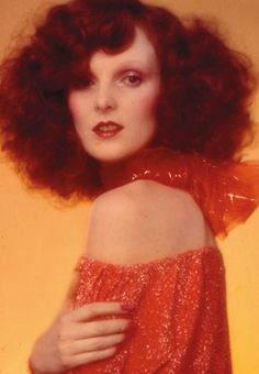 one of the most stylish redheads ever...the incomparable grace coddington