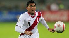 Rinaldo Cruzado pidió permiso a su club y jugará ante Panamá. August 01, 2014.