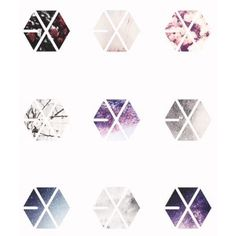 iOS camera image ❤ liked on Polyvore featuring exo