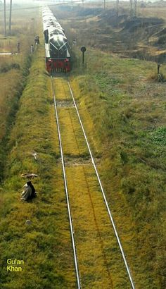 Awesome view of beautiful photography of beautiful railway trek in Islamabad city Pakistan
