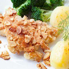 Filety z kurczaka w płatkach migdałów   Kwestia Smaku