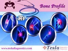 A complete bone profile along with ortho consultation @ Tesla Diagnostics and Polyclinics. http://goo.gl/LjHch3