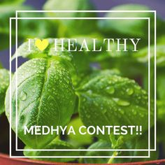 """Celebrate the bright #green colour of #Basil with Medhya! A #powerhouse of essential #bioactive compounds several varieties of Basil are present and revered across the world for their flavour and health benefits!  Enter Medhya's """"I LOVE HEALTHY"""" contest to get your supply of nutrition with yummilicious Medhya bites!! Here's what you need to do:  1: Follow @medhyaherbals on Instagram and Facebook   2: Post a selfie with your healthy lifestyle act or of your healthy food and tag #medhyaherbals…"""