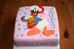 Puzzle Cake Decoration Donald Duck