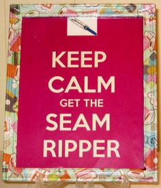 KEEP CALM 8x10 Quilters Sewing Room Decoration by QuiltingNowNThen, $13.00