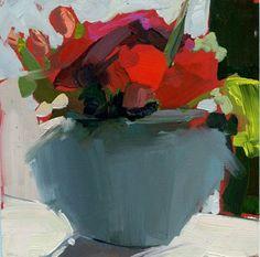 """1121 After but Before"" - Original Fine Art for Sale - © Lisa Daria  I'm loving Lisa brush strokes!"