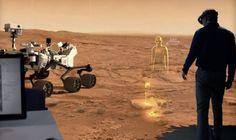 Hologramas y drones, el próximo paso en la conquista de Marte