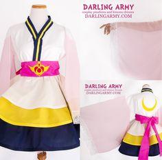 Super Sailor Moon Cosplay Kimono Dress Costume   Darling Army $160