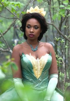 VIDEO: Jennifer Hudson as Princess Tiana from 'The Princess and the Frog' - Disney Dream Portrait Photo Shoot, Photography by Annie Leibovitz for Disney Parks