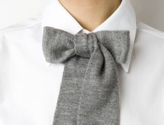 bow-I am going to make this from one of my old sweaters...so cute!