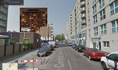 Portadas de discos en Google street view