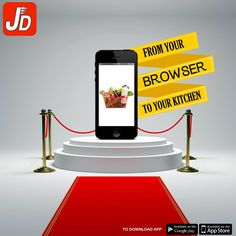 Grocery shopping is now easier and hassle free, get your daily need items delivered at home with ‪‎JustDelivr‬. Download the app today