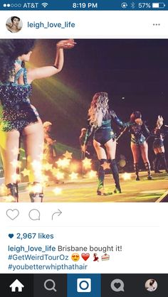 New gram from Leigh // Brisbane bought it! by leigh_love_life Leigh Anne Pinnock Instagram, Little Mix Instagram, Gal 3, Jesy Nelson, Perrie Edwards, Fifth Harmony, Brisbane, Concert, Instagram Posts