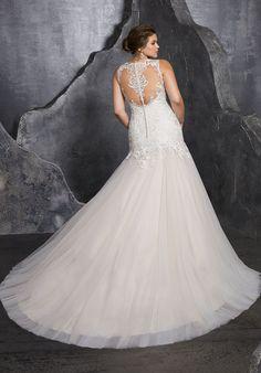 7e46e0f5d5 3236 - Bridal Gowns by Morilee. Kesara Wedding Dress. Elegant Modified  A-Line