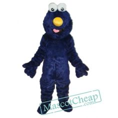 Dark Blue Elmo Sesame Street Plush Adult Mascot Costume Cartoon Mascot Costumes, Elmo Sesame Street, New Product, Tigger, Dark Blue, Disney Characters, Fictional Characters, Plush, Holiday