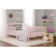 Dream On Me Classic Design Convertible Toddler Bed | Wayfair