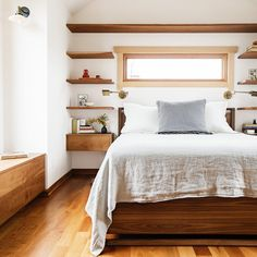 5 Ways to Maximize Bedroom Space | Every inch matters in this master bedroom addition