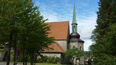 Storetveit Kirke I Bergen. / Storetveit Church in Bergen.
