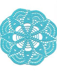 Crochet doily, lace doilies, table decoration, crocheted place mat £2.69