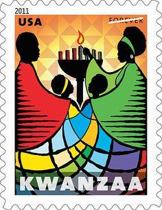 Kwanzaa Celebration  Dec 26, 2012 - Jan 1, 2013.COMMEMORATIVE STAMP