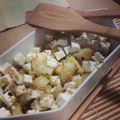 insalata di patate arrosto   salad of roasted potatoes