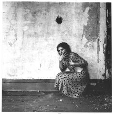 Francesca Woodman, From Polka Dots series, Providence, Rhode Island 1975-1978