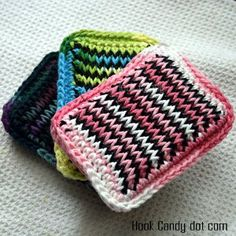 Kitchen sponge pattern...free at Hook Candy Crochet Patterns