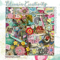 blOOmin' Creativity :: An Oscraps Collaboration