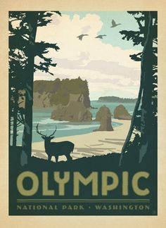 USA-National-Parks-A3-CANVAS-PRINT-POSTER-SELF-ADHESIVE-poster-vintage-retro