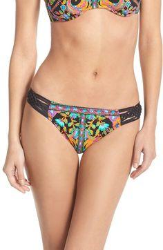 b47b6bf871f43 Nanette Lepore  Kings Road Charmer  Bikini Bottoms available at  Nordstrom  Nanette Lepore