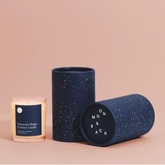 Gift cylinder packaging desing by - Imperial Blue Colourplan from . Candle Packaging, Tea Packaging, Print Packaging, Beauty Packaging, Candle Branding, Product Packaging, Packaging Design Box, Wedding Packaging, Foil Packaging