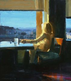 urgetocreate: Ben Aronson, Woman by a Window, 2008