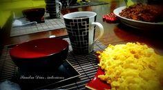 Yakisoba com chá