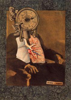 Raoul Hausmann, Autoportrait du Dadasophe, 1920.