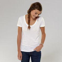 Wardrobe Essential: a Plain White Tee