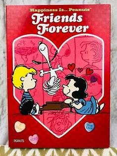 Happiness Is. Peanuts: Friends Forever (DVD, for sale online Charlie Brown Valentine, Be My Valentine, Mickey Christmas, Christmas Carol, Forever Love, Friends Forever, Veggietales, Vhs Movie, Christian Videos