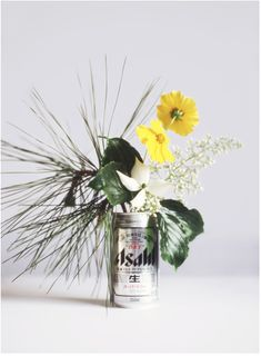 On ongoing personal series, pairing local flora picked on the side of the road with the local beer - shot on location around the world.  by Lauren Bamford.