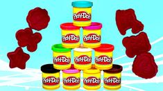 DIY Learn Colors with Play Doh Modelling Clay and Cookie Molds and Surpr. Modelling Clay, Fanta Can, Learning Colors, Play Doh, Cookies, Youtube, Kids, Crack Crackers, Young Children