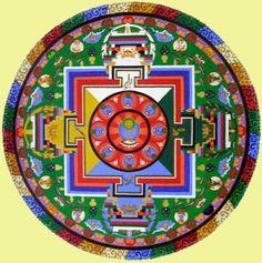 amitaius mandala, longevity buddha