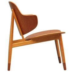 20th Century Scandinavian Design Lounger in Teak & Beech | From a unique collection of antique and modern lounge chairs at http://www.1stdibs.com/furniture/seating/lounge-chairs/