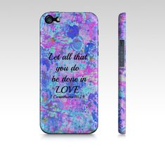 All That You Do  iPhone 4 4S or 5 5S 5C Hard Case by EbiEmporium, $40.00 Abstract Art Typography  Inspirational Jesus Christ Bible Verse Christian Quote Religious iPhone Case, Cell Phone Cover, Whimsical Uplifting Fine Art