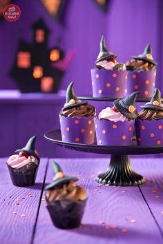 Süßer Zauber hexenhaft verkleidet #Cupcake