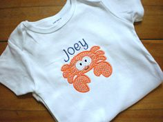 Personalized Tee or Onesie by SweatPeaStitches on Etsy, $15.00