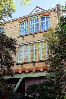 École du Sacré-Coeur. Hector Guimard. PARÍS