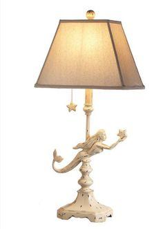 Mermaid Table Lamps- Set of 2