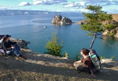 """Lake Baikal in Russia     Lake Baikal's statistics seem as big as all of Russia: The """"Pearl of Siberia"""" is the deepest lake on Earth, containing one-fifth of the fresh water on the Earth's surface. Baikal is 395 miles long, 50 miles wide, and 5,371 feet deep, draining a watershed of 212 square miles, fed by more than 330 rivers. And it has thermal vents in its depths. At least 1,500 species of plant and animal life are unique to the lake. Humans have inhabited the area since the Mesolithic…"""