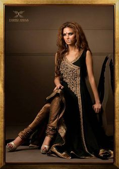 Zaheer Abbas bridal wear for 2014