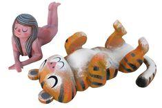 """Lazy Day Tiger Set"" 10 questions #amandavisell"