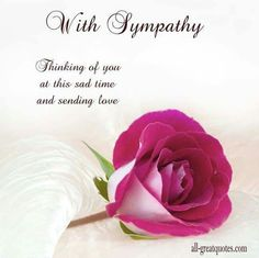 The 56 best heartfelt sympathy condolences quotes images on free sympathy cards with sympathy thinking of you at this sad time and sending love m4hsunfo