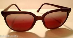 VINTAGE SUNCLOUD FRANCE MIRRORED SCR ROSE SUNGLASSES CATEYE RARE EXCELLENT - $150.00 - http://www.12pmsunglasses.com/on-sale/Vintage-SUNCLOUD-SCR-sunglasses.html